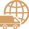 international-logistics-delivery-truck-symbol-with-world-grid-behind
